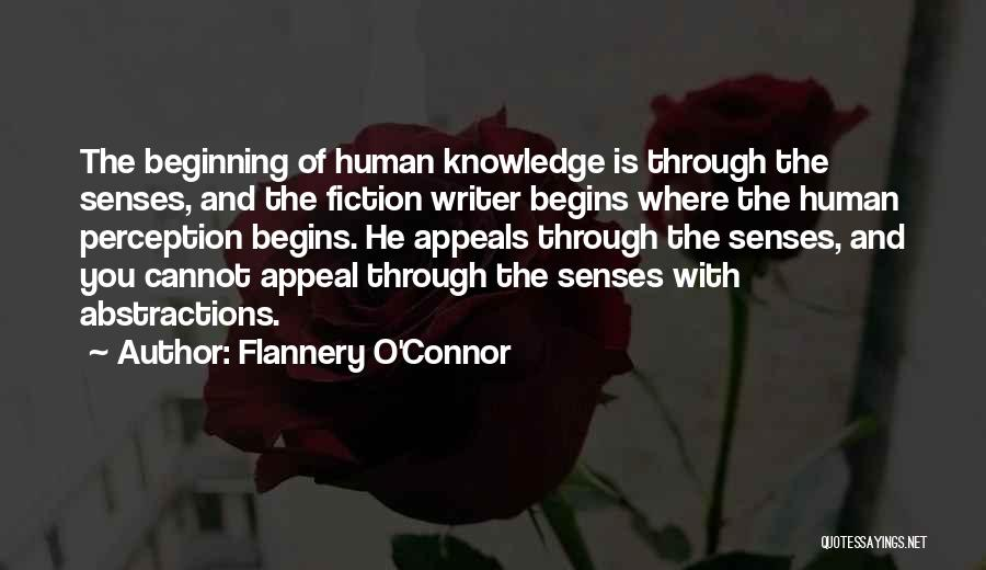 Human Perception Quotes By Flannery O'Connor