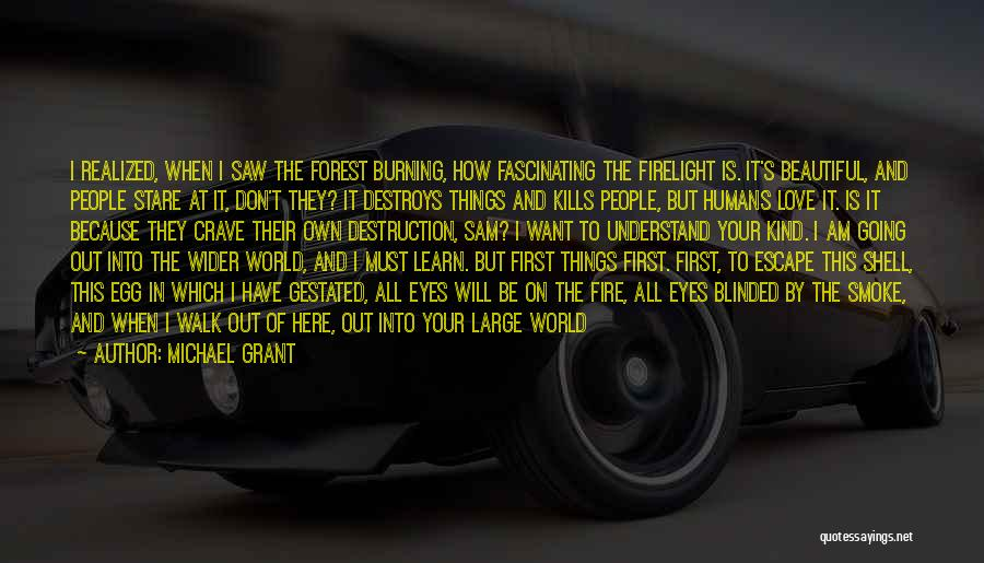 Human Perception Quotes By Michael Grant