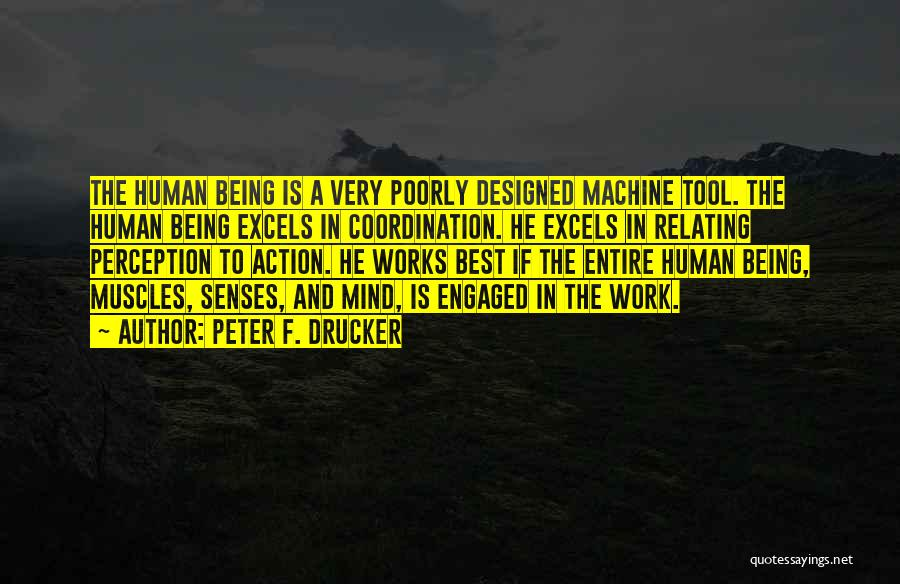 Human Perception Quotes By Peter F. Drucker