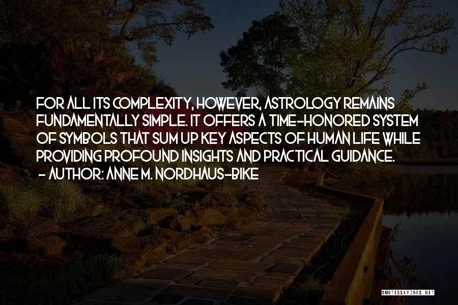 Human Remains Quotes By Anne M. Nordhaus-Bike
