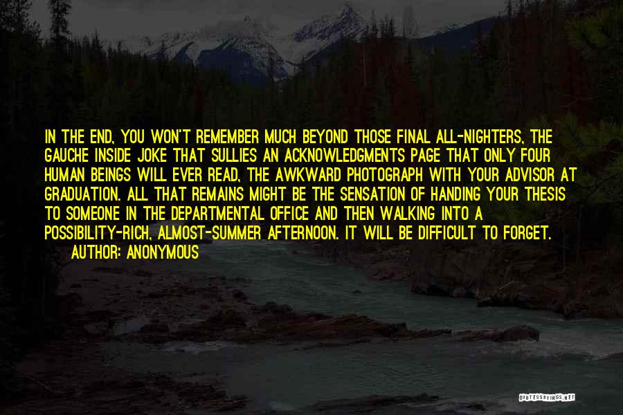Human Remains Quotes By Anonymous