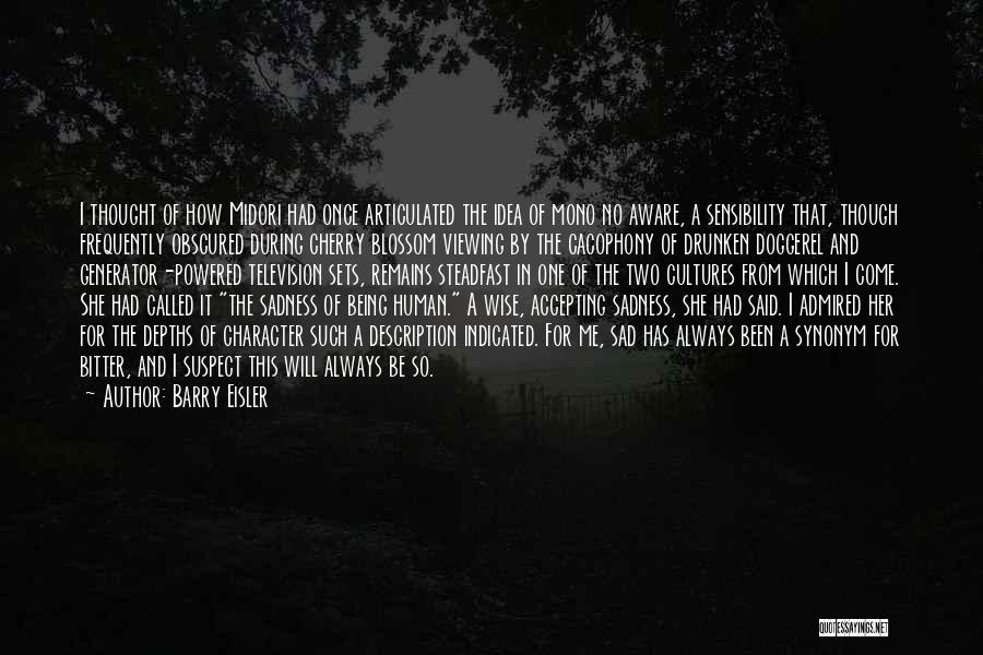 Human Remains Quotes By Barry Eisler