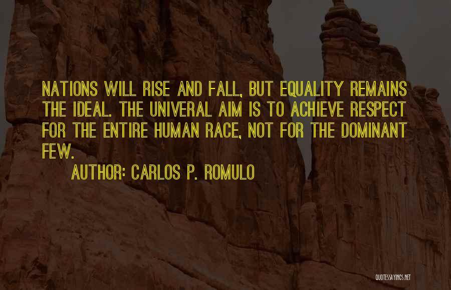 Human Remains Quotes By Carlos P. Romulo