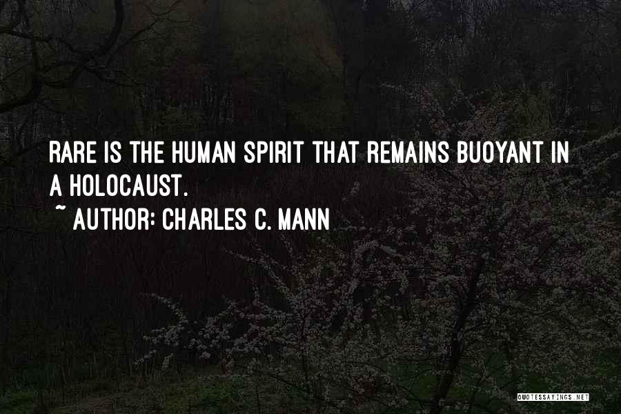 Human Remains Quotes By Charles C. Mann