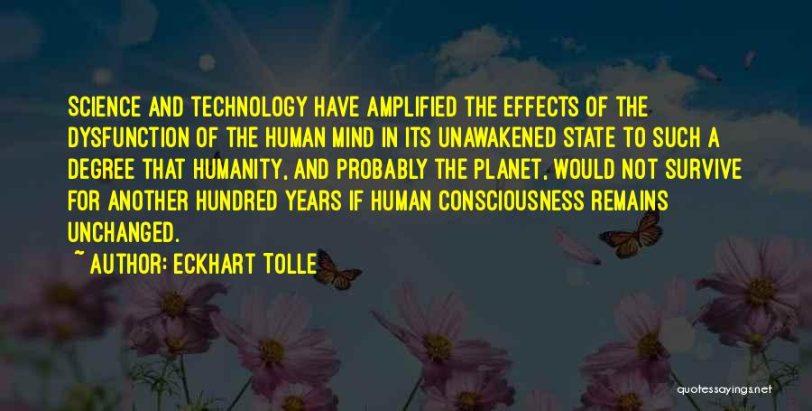 Human Remains Quotes By Eckhart Tolle