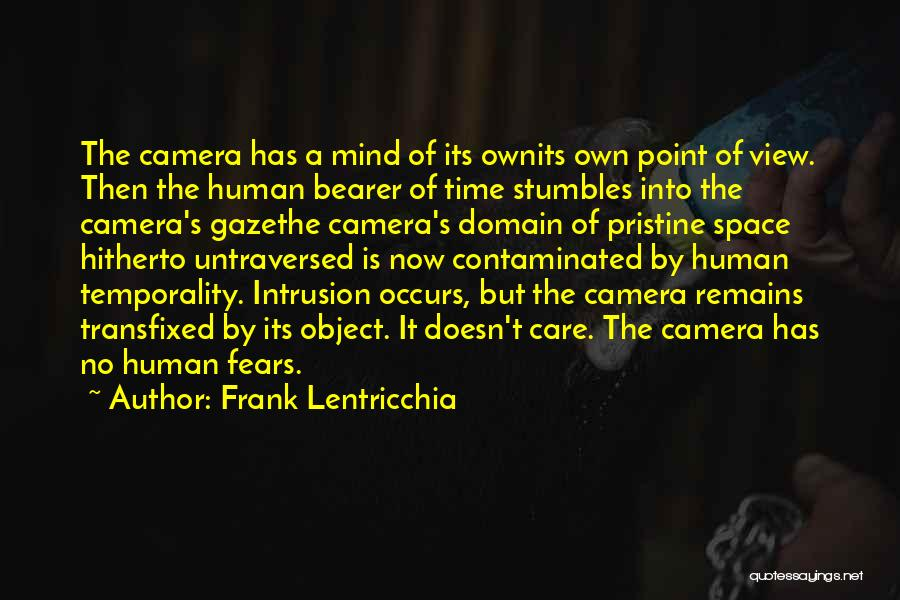 Human Remains Quotes By Frank Lentricchia