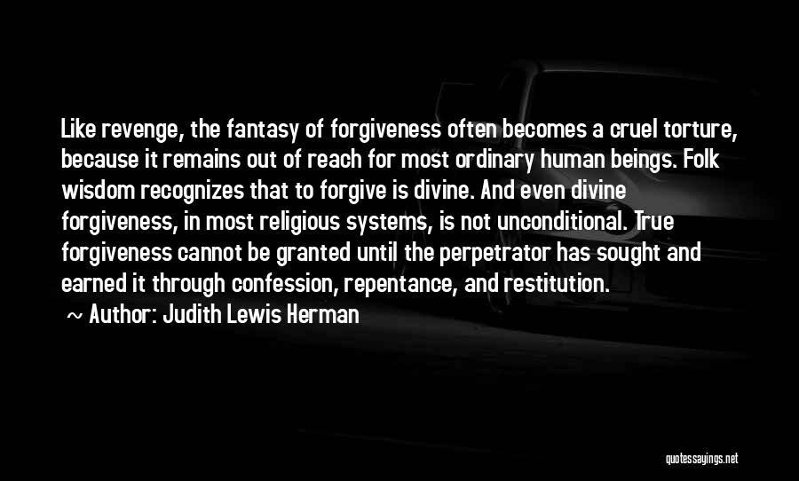Human Remains Quotes By Judith Lewis Herman
