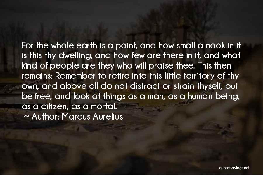 Human Remains Quotes By Marcus Aurelius