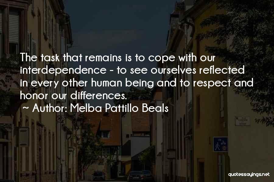 Human Remains Quotes By Melba Pattillo Beals