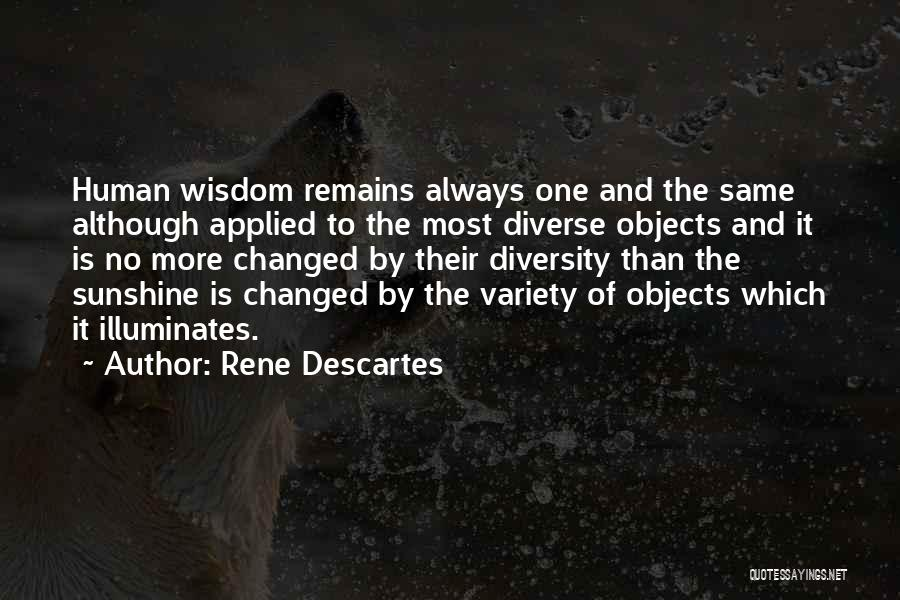 Human Remains Quotes By Rene Descartes