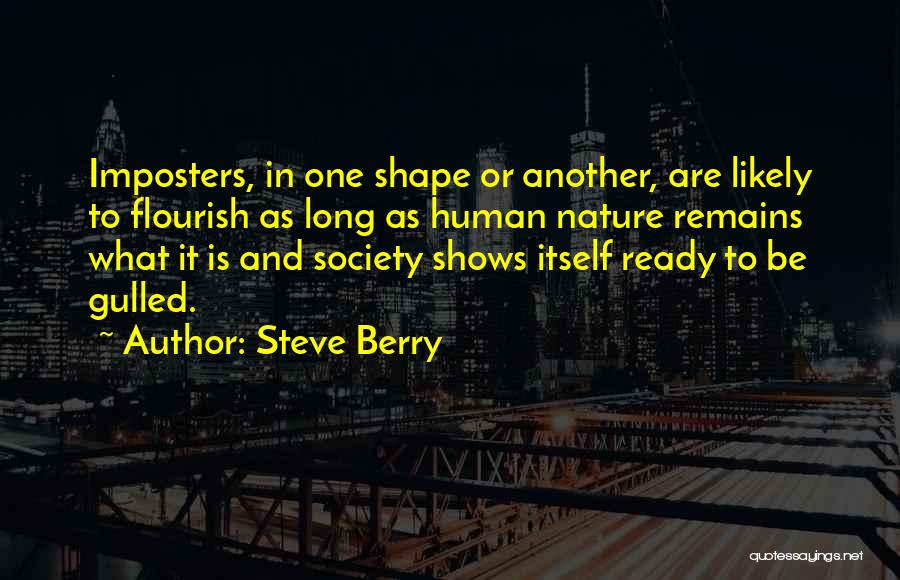 Human Remains Quotes By Steve Berry