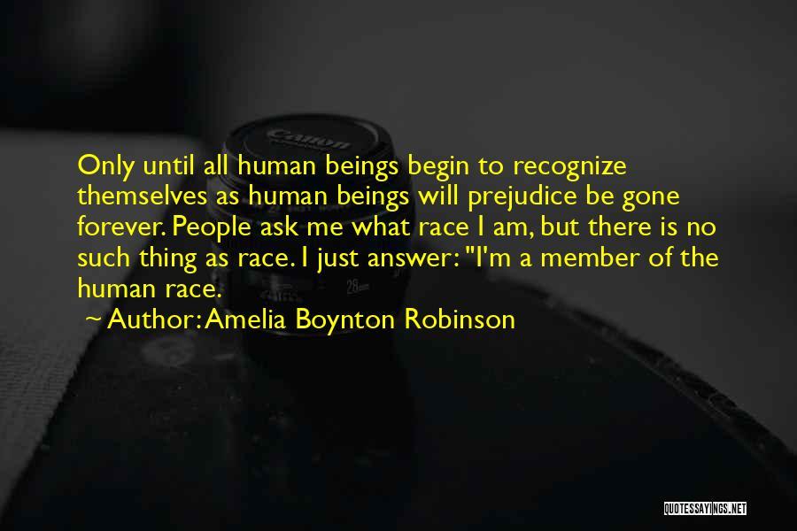 Human Rights Activist Quotes By Amelia Boynton Robinson