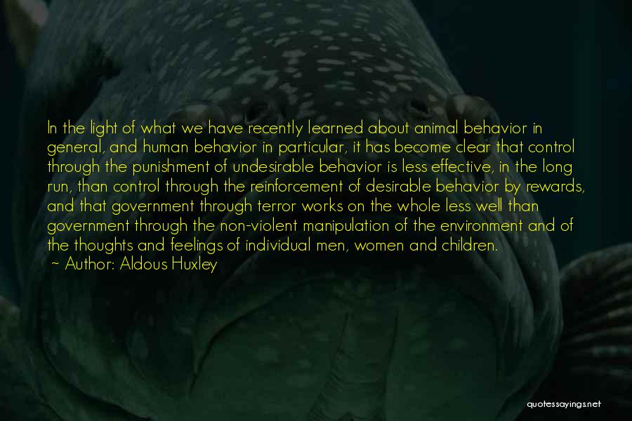 Human Thoughts Quotes By Aldous Huxley