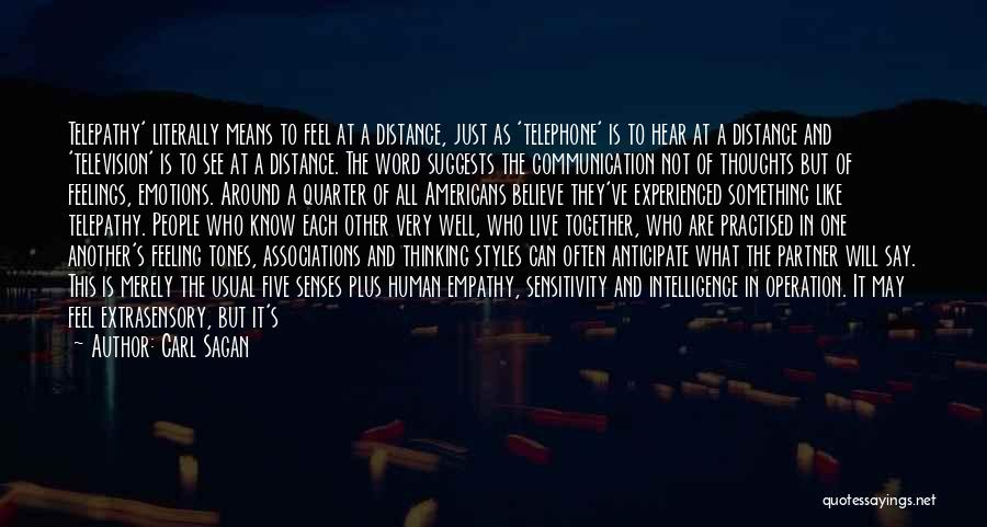 Human Thoughts Quotes By Carl Sagan