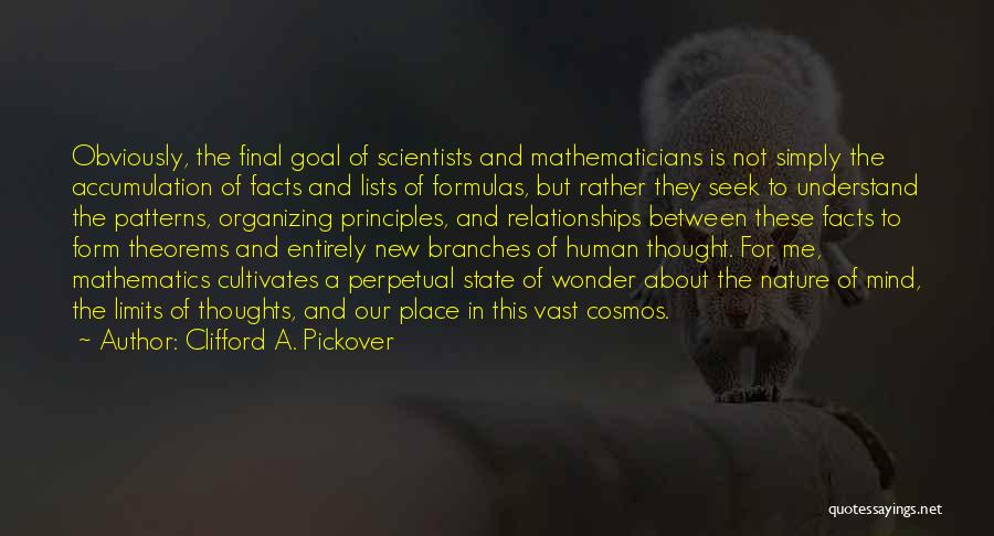 Human Thoughts Quotes By Clifford A. Pickover