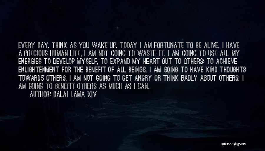 Human Thoughts Quotes By Dalai Lama XIV