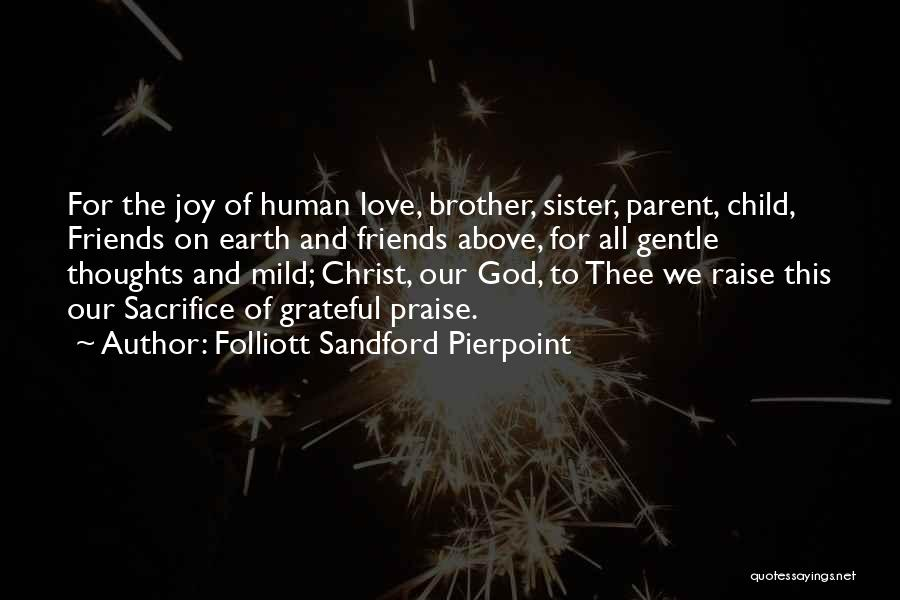 Human Thoughts Quotes By Folliott Sandford Pierpoint