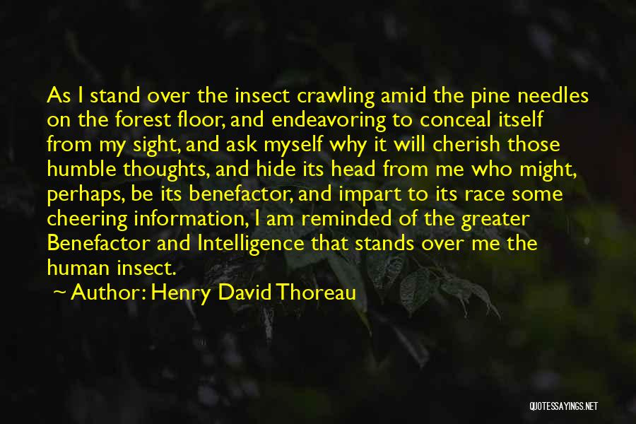 Human Thoughts Quotes By Henry David Thoreau