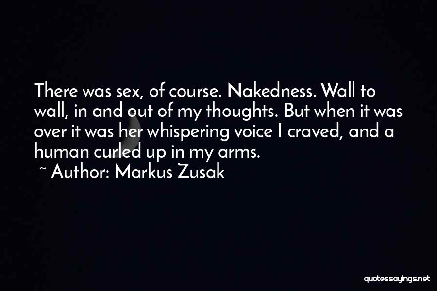 Human Thoughts Quotes By Markus Zusak