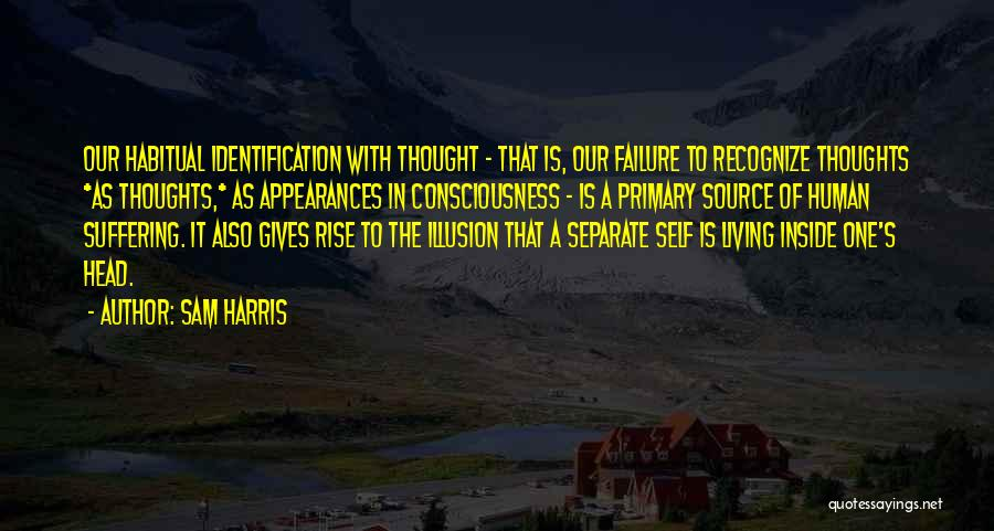 Human Thoughts Quotes By Sam Harris