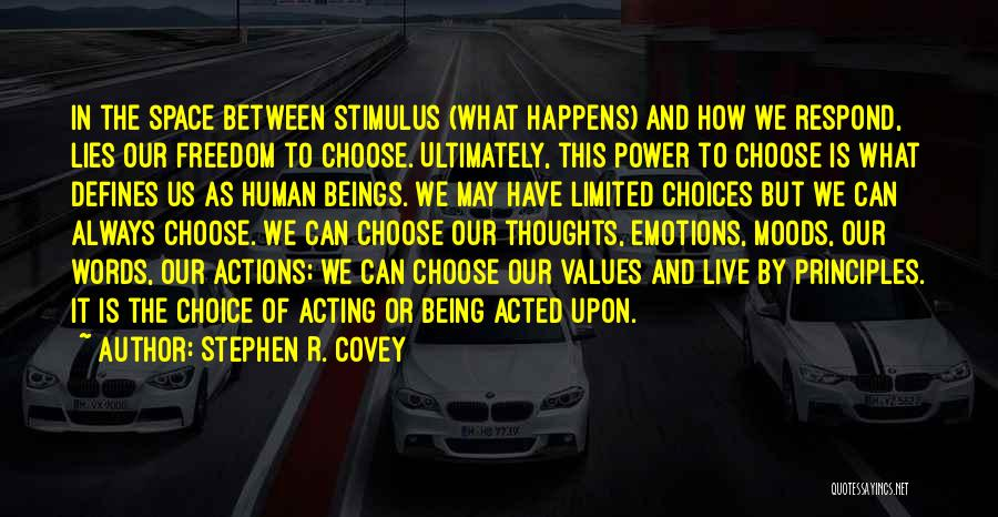 Human Thoughts Quotes By Stephen R. Covey