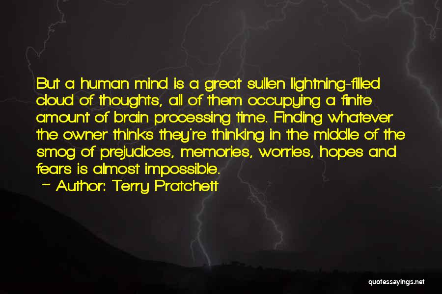 Human Thoughts Quotes By Terry Pratchett