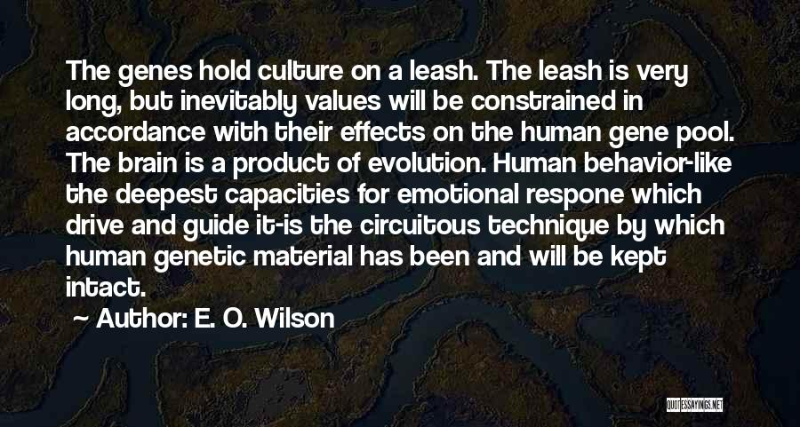 Human Values Quotes By E. O. Wilson