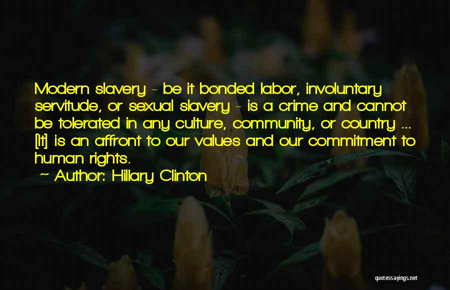 Human Values Quotes By Hillary Clinton