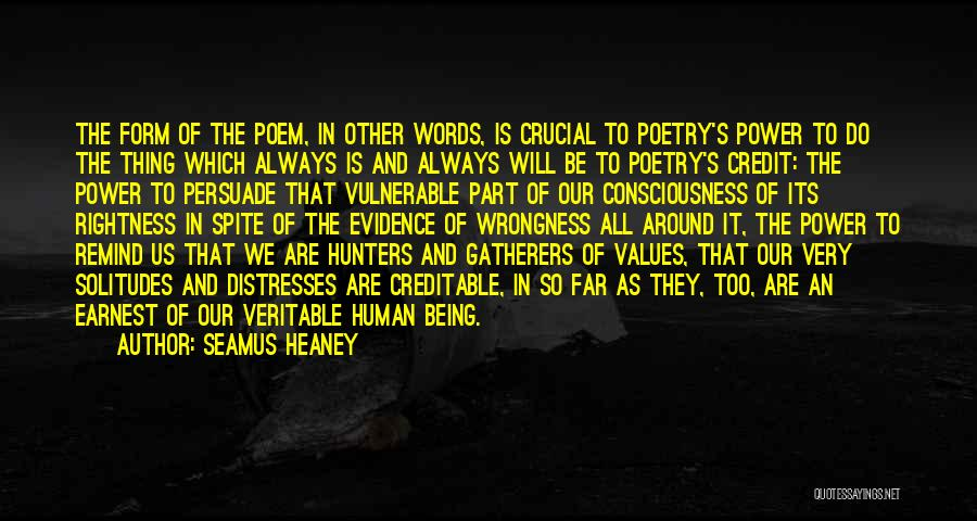 Human Values Quotes By Seamus Heaney