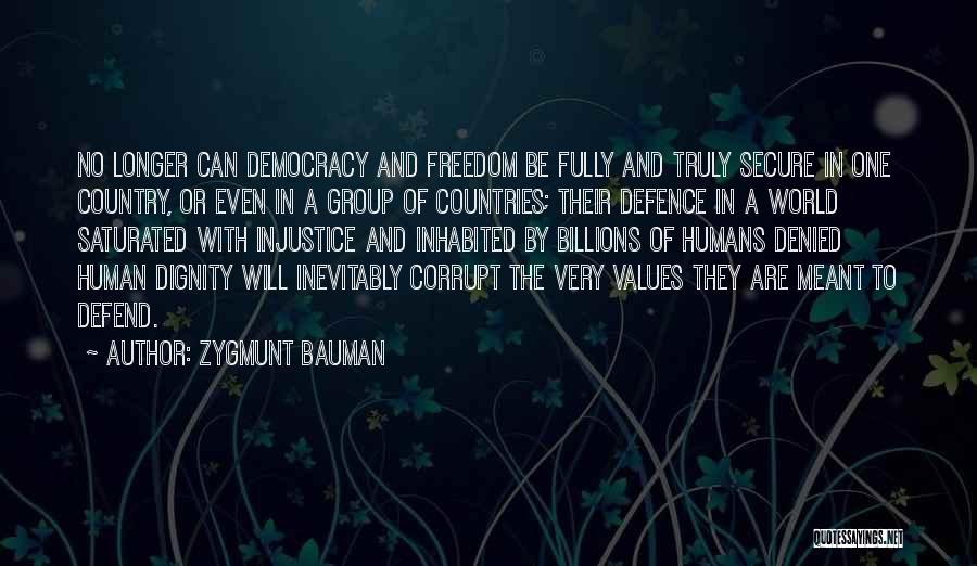 Human Values Quotes By Zygmunt Bauman