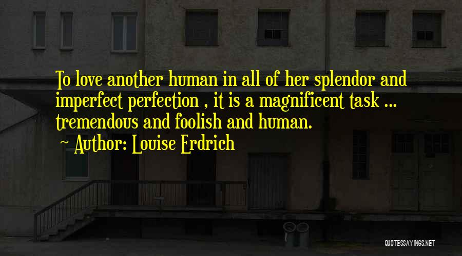 Humanity And Love Quotes By Louise Erdrich