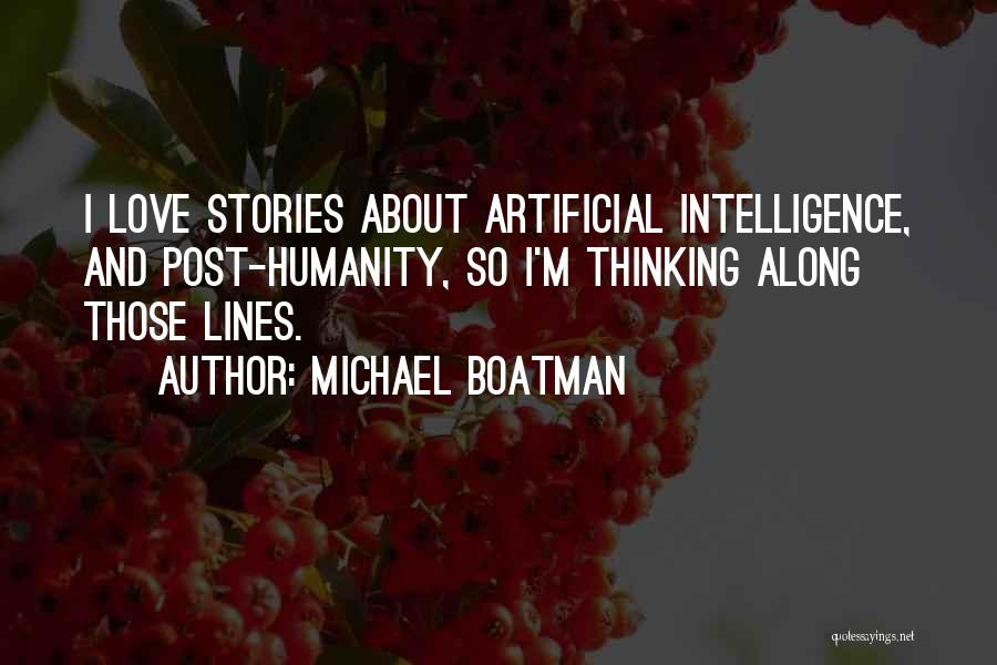Humanity And Love Quotes By Michael Boatman