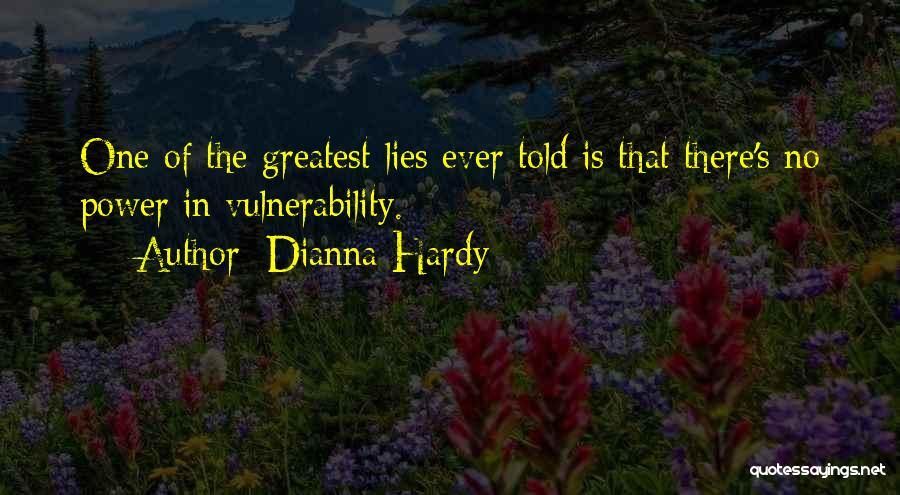 Humanity And Society Quotes By Dianna Hardy