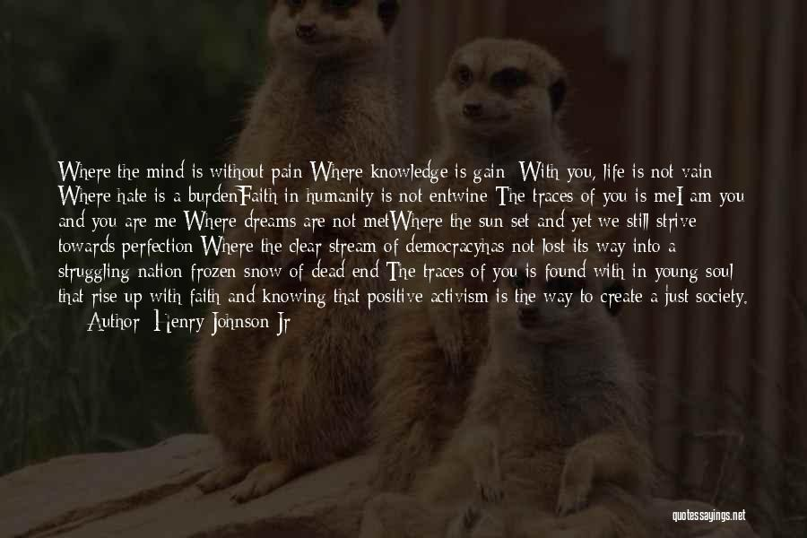 Humanity And Society Quotes By Henry Johnson Jr