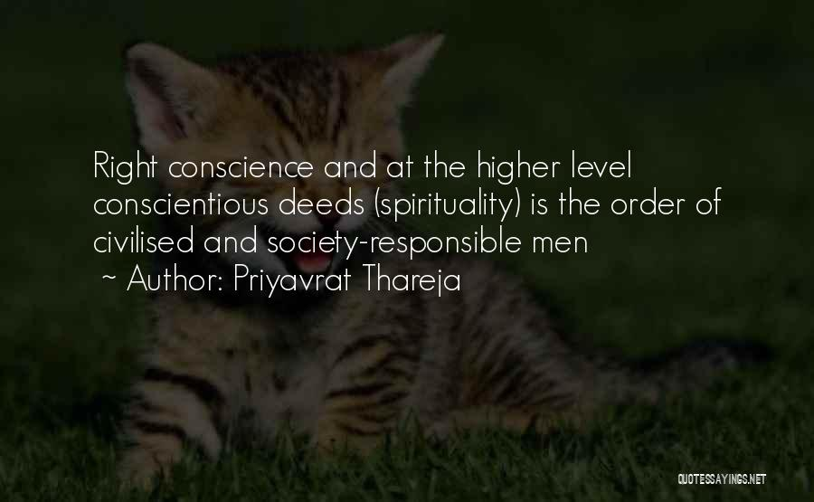 Humanity And Society Quotes By Priyavrat Thareja