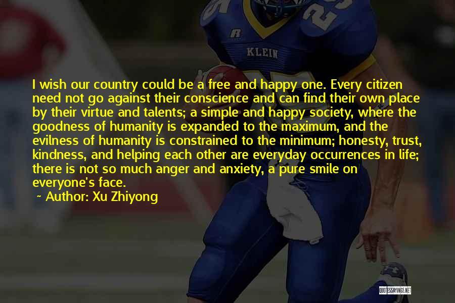 Humanity And Society Quotes By Xu Zhiyong