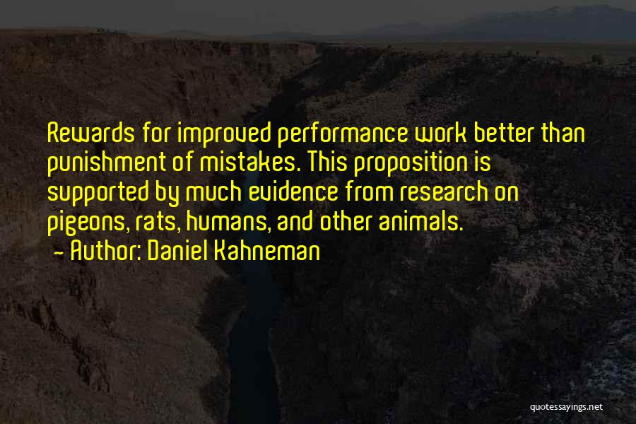Humans And Animals Quotes By Daniel Kahneman
