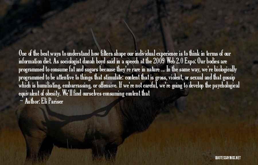 Humiliating Quotes By Eli Pariser
