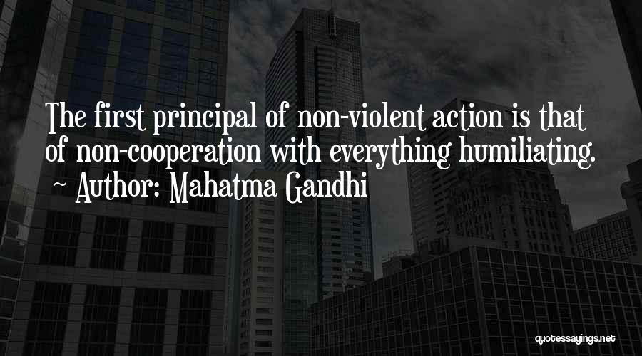 Humiliating Quotes By Mahatma Gandhi