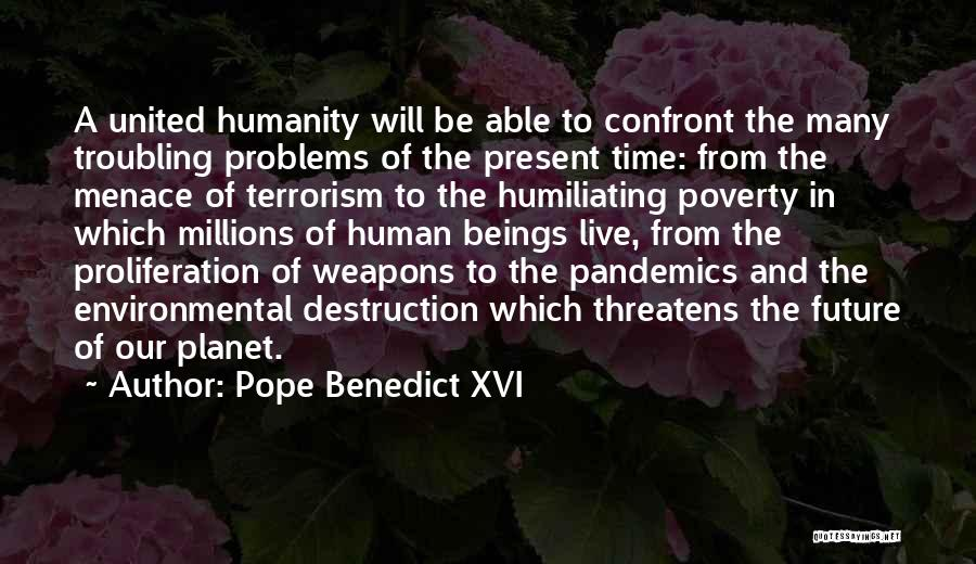 Humiliating Quotes By Pope Benedict XVI