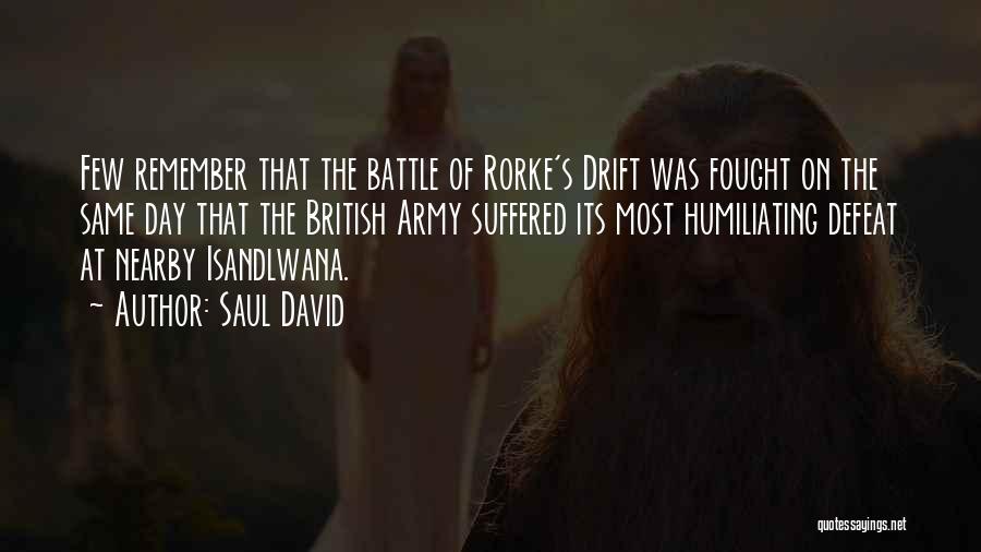 Humiliating Quotes By Saul David