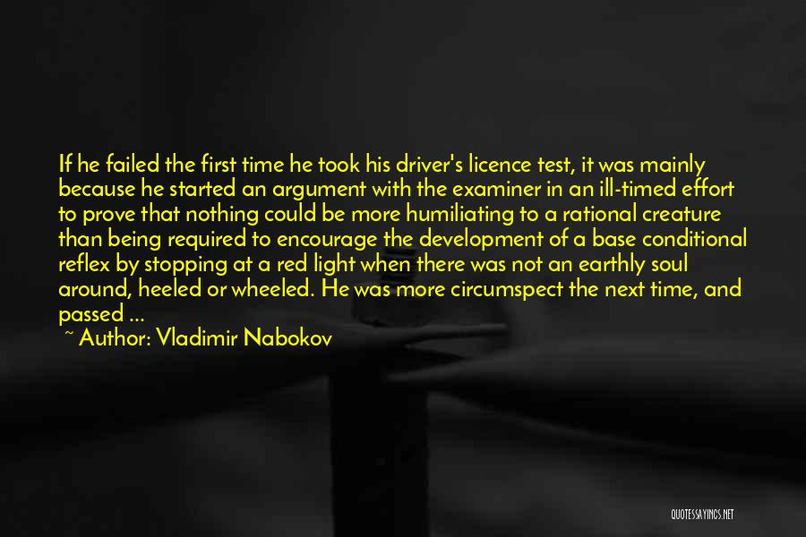 Humiliating Quotes By Vladimir Nabokov