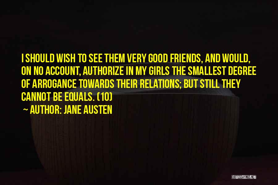 Humility And Arrogance Quotes By Jane Austen