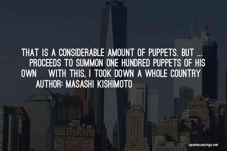 Humor Sasori Quotes By Masashi Kishimoto