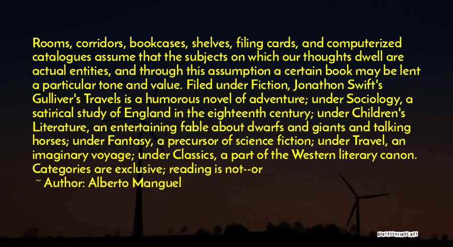 Humorous Book Quotes By Alberto Manguel