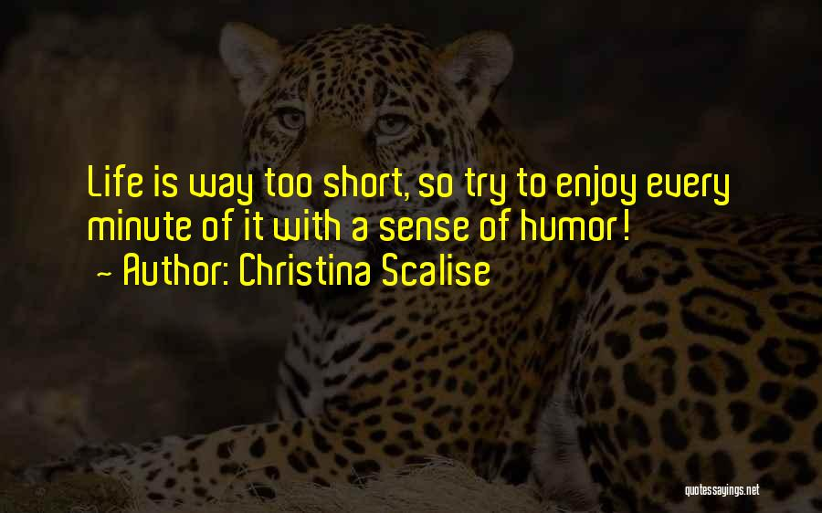 Humorous Book Quotes By Christina Scalise