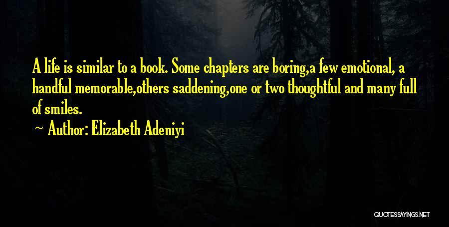 Humorous Book Quotes By Elizabeth Adeniyi
