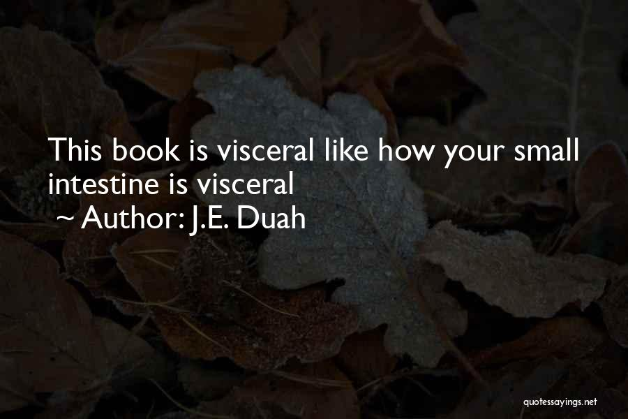 Humorous Book Quotes By J.E. Duah