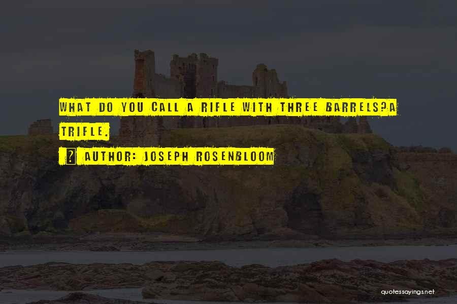 Humorous Book Quotes By Joseph Rosenbloom