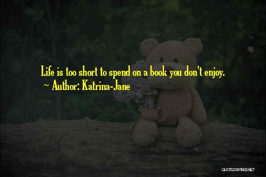 Humorous Book Quotes By Katrina-Jane